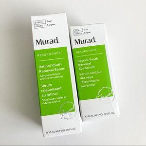 NIB Murad Resurgence Face Serum & Eye Serum